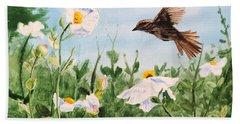 Flying Bird Bath Towel