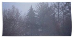 Fog And Mist Bath Towel