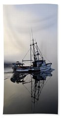 Fog Bound Hand Towel by Cathy Mahnke