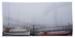 Fog In Marina IIi Hand Towel