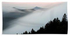 Fog On The Mountain Hand Towel