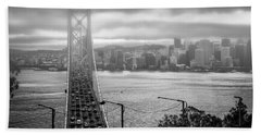 Foggy City Of San Francisco Bath Towel