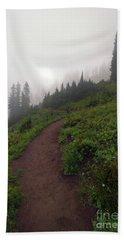 Foggy Crest Trail Hand Towel
