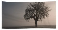Foggy Morning Sunshine Hand Towel