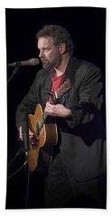 Folk Singer Songwriter John Gorka Hand Towel