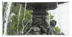 Fontaine De Tourny Hand Towel by Lingfai Leung