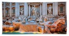Fontana Di Trevi Hand Towel