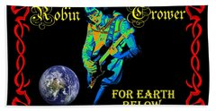 For Earth Below #1 Hand Towel