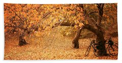For Two - Autumn - Central Park Hand Towel