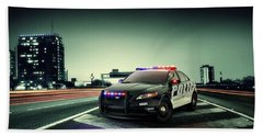 Ford Police Interceptor Hand Towel