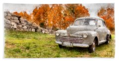 Ford Superdelux 1946 Sedan Coupe Hand Towel