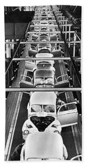 Ford's Mercury Assembly Line Hand Towel