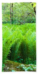 Forest Ferns   Bath Towel