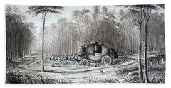 Forest Road, 1836 Bath Towel