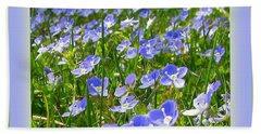 Forget Me Not Hand Towel