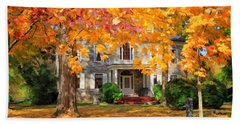 Fort Hunter Autumn Bath Towel