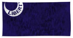 Fort Moultrie Flag Hand Towel