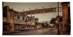 Fort Worth Stockyards Hand Towel