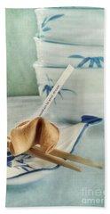 Fortune Cookie Hand Towel by Priska Wettstein