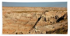 Fossil Exhibit Trail Badlands National Park Bath Towel