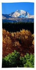 Four Seasons Bath Towel by Steven Reed