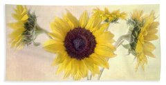 Bath Towel featuring the photograph Hello Sunshine by Louise Kumpf