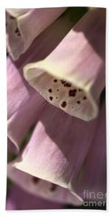 Hand Towel featuring the photograph Foxglove by Joy Watson