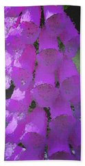 Foxgloves Hand Towel