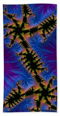 Fractal Aztec 09 - Phone Cases And Cards Hand Towel