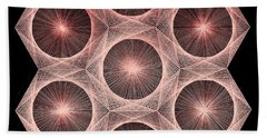 Fractal Fusion Hw Equals Mc Squared Hand Towel