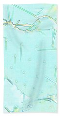 Hand Towel featuring the photograph Fragile Heart by Roselynne Broussard