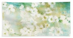 Fragrant Waters - Abstract Art Bath Towel