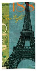 Francaise 1 Hand Towel by Debbie DeWitt
