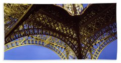France, Paris, Eiffel Tower Bath Towel