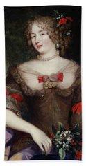 Francoise De Sevigne 1646-1705 Countess Of Grignan Oil On Canvas Bath Towel