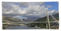 Franjo Tudman Bridge Bath Towel