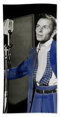 Frank Sinatra - Old Blue Eyes Bath Towel
