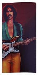 Frank Zappa Hand Towel by Paul Meijering