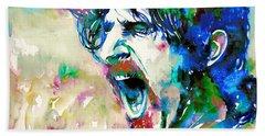 Frank Zappa  Portrait.4 Bath Towel