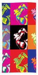 Freddie Mercury Pop Art Hand Towel