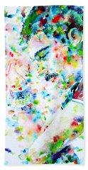 Freddie Mercury Portrait.7 Hand Towel