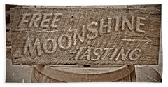 Free Moonshine Bath Towel