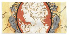 French Cameo 2 Hand Towel