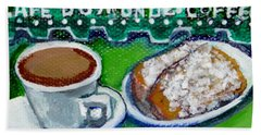French Quarter Delight Hand Towel by Ecinja