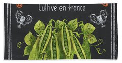 French Vegetables 2 Hand Towel