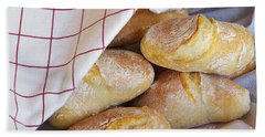 Fresh Bread Hand Towel
