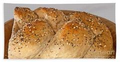 Fresh Challah Bread Art Prints Bath Towel