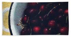 Fresh Cherries Hand Towel