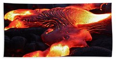 Fresh Lava Flow Hand Towel