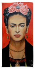 Frida Kahlo Hand Towel